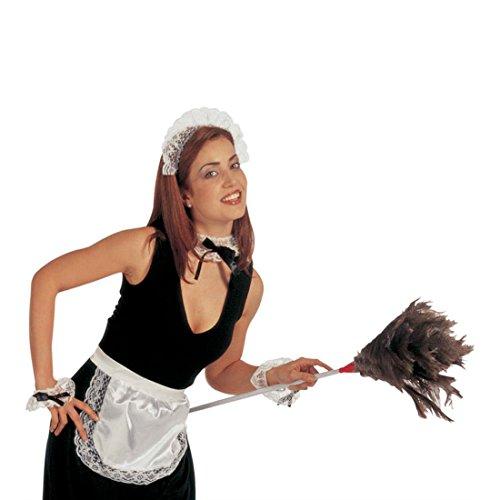 NET TOYS Costume Sexy Femme de Chambre Article de fête Serveuse servante Femme Chambre Demoiselle Femme de ménage Soubrette déguisement Set