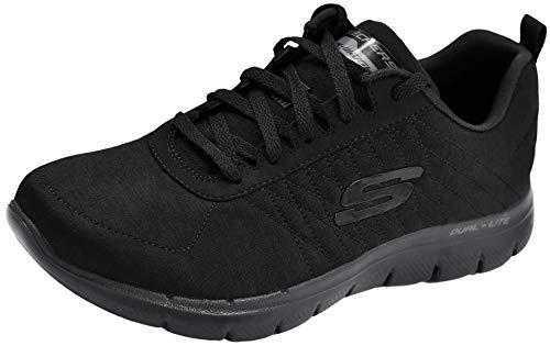 Skechers Women's Flex Appeal 2.0 Black Sneaker 9.5 M US