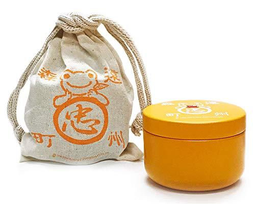 かえるのピクルス・ティーパック缶「りんごフレーバー(巾着・缶・お茶のセット)」