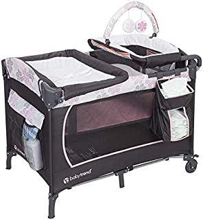 Babytrend Lil Snooze Deluxe Nursery Center Floral rain