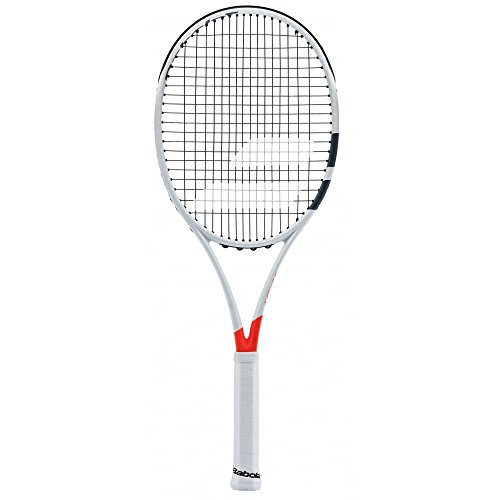 BABOLAT Pure Strike 18/20U Tennis Rackets, Men, Men, Pure Strike 18/20 U, White / Red, 2