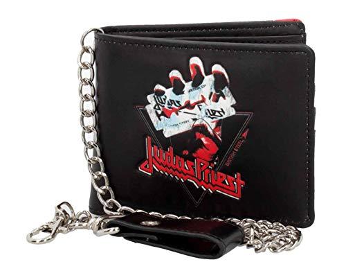 Unbekannt Judas Priest Brieftasche British Steel Band Logo Nue offiziell Schwarz Bifold