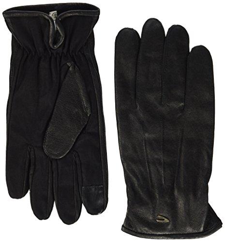 camel active Herren 408270/6G27 Handschuhe, Schwarz (Black 9), Medium
