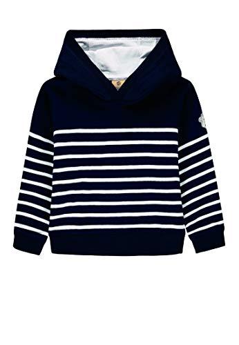 Bellybutton mother nature & me Baby-Jungen 1/1 Arm Sweatshirt, Blau (Navy Blazer|Blue 3105), (Herstellergröße: 86)