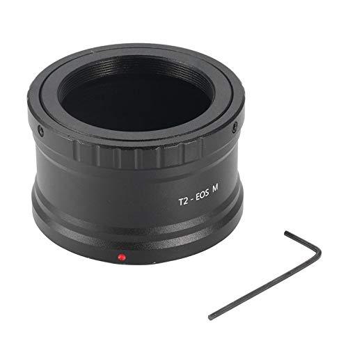 Eletam Anillo Adaptador de fotografía para telescopio astronómico, Accesorios para telescopio astronómico, Adaptador de Rosca T2 EOS Bayoneta M42