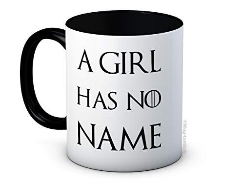 A Girl Has No Name - Game of Thrones Arya Stark - Taza de Café de Cerámica