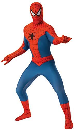 Rubie's Men's Marvel 2nd Skin, Spider-Man, Large