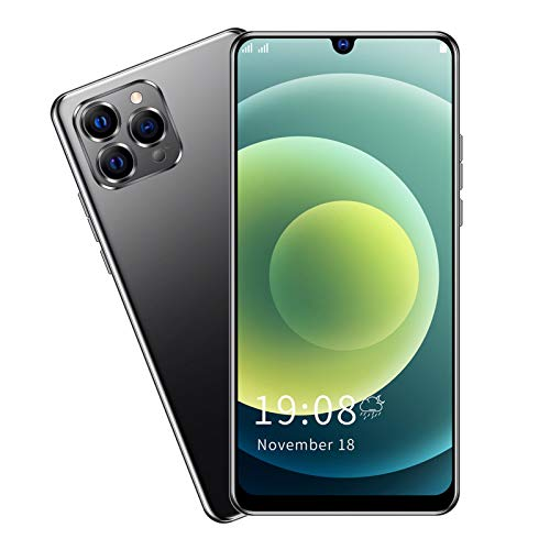 Aukson Teléfono Inteligente, 1 + 8 GB de Tarjeta Dual, teléfonos Inteligentes de Doble Modo de Espera, batería de Iones de Litio Recargable incorporada de 2100 mAh, (Black)