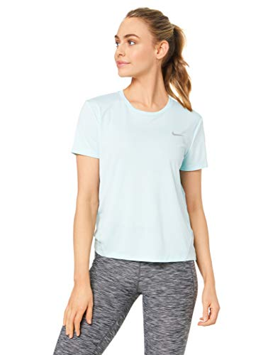 Nike W Nk Miler Ss Shirt zonder mouwen