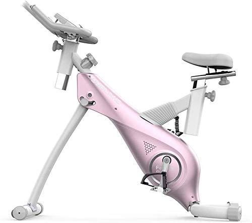SXTYRL Bicicleta de Ciclismo de Interior Plegable Magnética Vertical Bicicleta Estacionaria Bicicleta Recumente Bicicleta Ejercicio