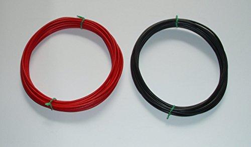 Kfz-Kabel Set 2,5mm² 2,50mm² 2 x 5m (0,85/m) Litze Flry Fahrzeugleitung