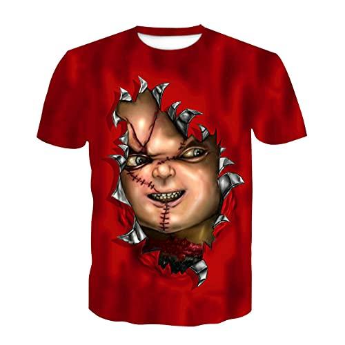 LIKEJJ Camiseta de manga corta para hombre, diseño con texto en inglés