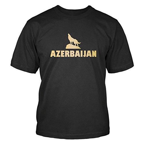 Aserbaidschan T-Shirt SizeMap M, Size M