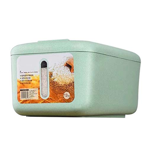 Fantastic Prices! Rice Dispenser Dry Food Storage Container Bin Airtight Sealed Lid 10kg Capacity Gr...