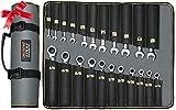 AIRAJ llaves carraca combinadas -22 piezas, SAE (1/4 de pulgada a...