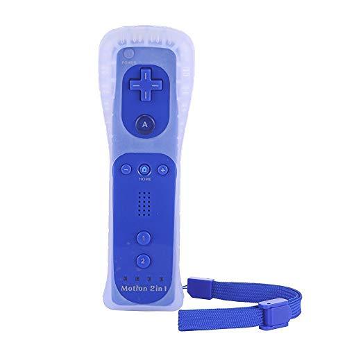 AeeYui Controlar Remoto Wii/Wii U, Funda de Silicona y Correa del Control Remoto Wii