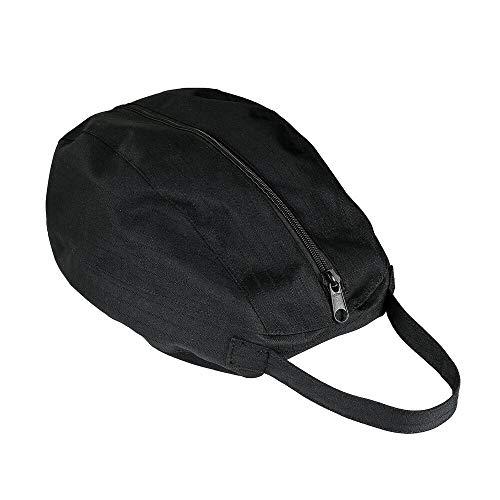 Horze Helmtasche Reithelm, Atmungsaktiv und Wasserdicht, Eine Größe, Schwarz, Schwarz, one size