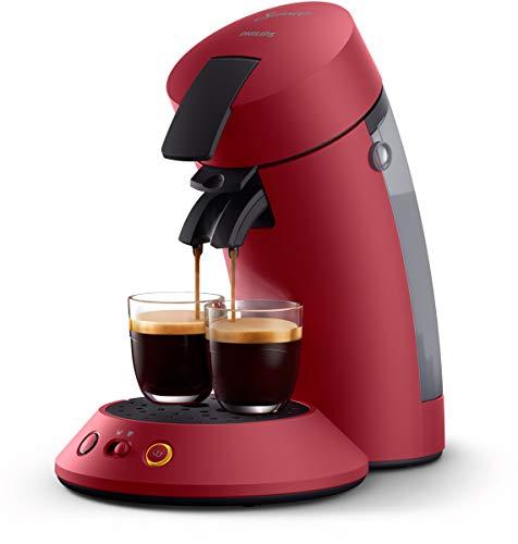 Philips CSA210/91 machine à café dosettes SENSEO Original+, Rouge
