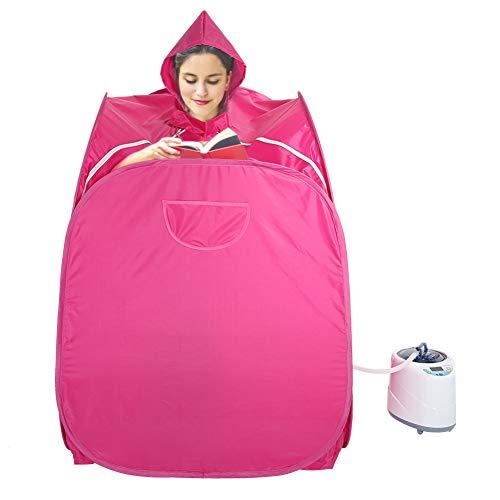 Personal Spa 2 l, stoom-spa voor sauna, slank lichaam en gewichtsverlies, voor de huid, draagbare stoomsauna, ontspannen en bevordert de spierflexibiliteit EU