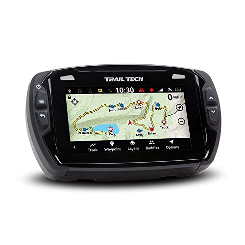Trail Tech Voyager Pro 922-125 UTV GPS 4-inch Touch Screen, Fits All, Black, Universal utv