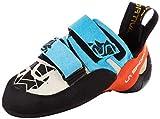 LA SPORTIVA 10tbf, Chaussures d'escalade Mixte Enfant, Multicolore (Blue/Flame 000), 35 EU