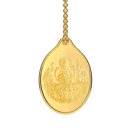 Malabar Gold & Diamonds 24k (999) Yellow Gold Pendant for Women