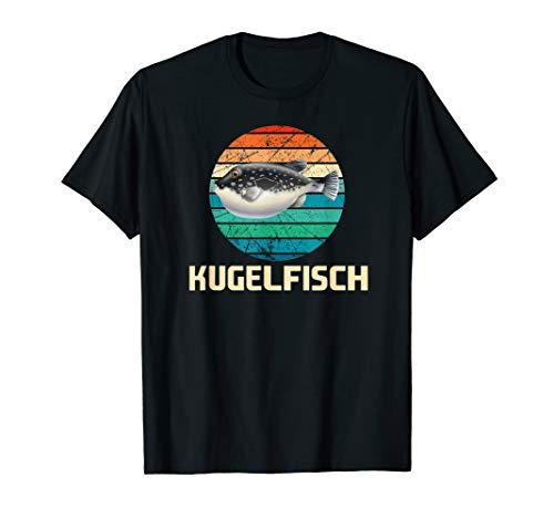 Kugelfisch, Meer, See, Fischen, Angeln, Seefahrt, Fische T-Shirt