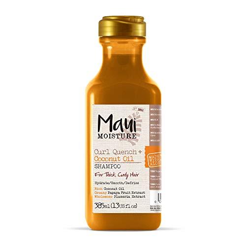 Maui Moisture Curl Quench + Kokosnuss-Öl, Feuchtigkeitsspender Shampoo für die Haare, 385ml