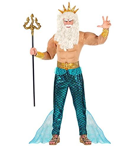 WIDMANN 08753Adultos Disfraz Poseidon , color/modelo surtido