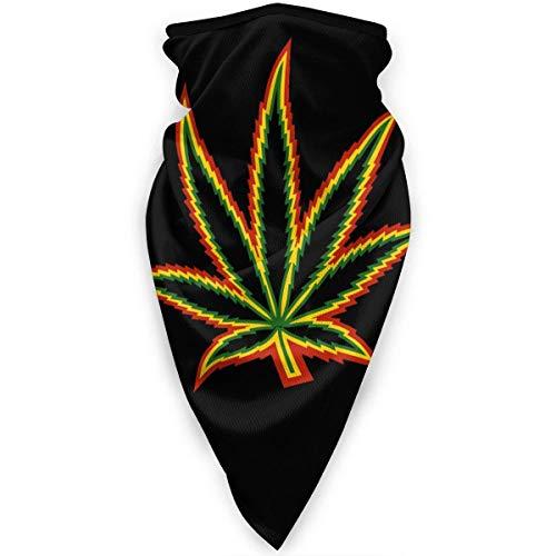 Double Cheese Marihuana malezas Plana Unisex Cuello Polaina Cara Bufanda Calentador al Aire Libre protección a Prueba de Viento Multifuncional Sombreros