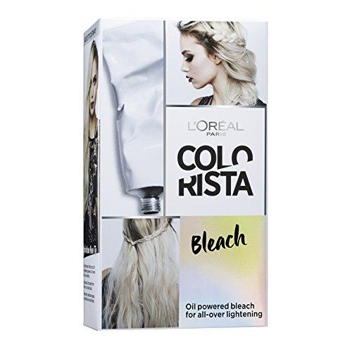 L'Oréal Paris Colorista Kit de Coloration Effet Blond Platine Bleach pour Cheveux
