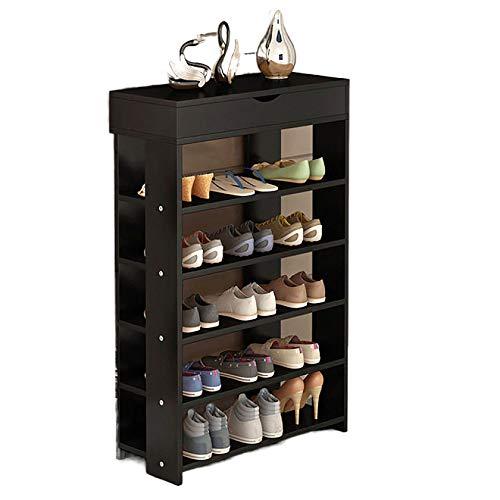 QINJIE Rack de Almacenamiento de hogar Simple, Bastidor de Almacenamiento Multifuncional económico Multifuncional,Five Floors