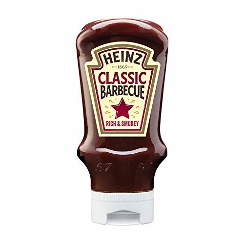 Heinz Barbecue - Salsa clásica (400 ml, botella de plástico)