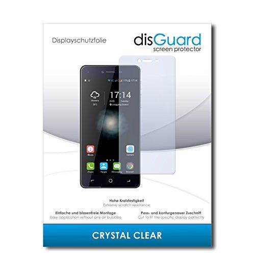 disGuard Displayschutzfolie für Switel eSmart H1 [4 Stück] Crystal Clear, Kristall-klar, Unsichtbar, Extrem Kratzfest - Displayschutz, Schutzfolie, Glasfolie, Panzerfolie