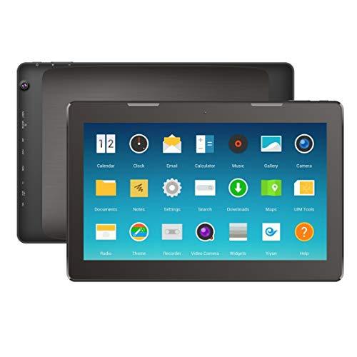 YEYOUCAI Tablet PC, 13,3 Pulgadas, 2GB + 16GB, 10000mAh de batería, Google Android 7.1 RK3368 Octa Core Arm Cortex-A53 hasta 1.8GHz, HDMI, 3G USB-Dongle, USB LAN, WiFi, BT