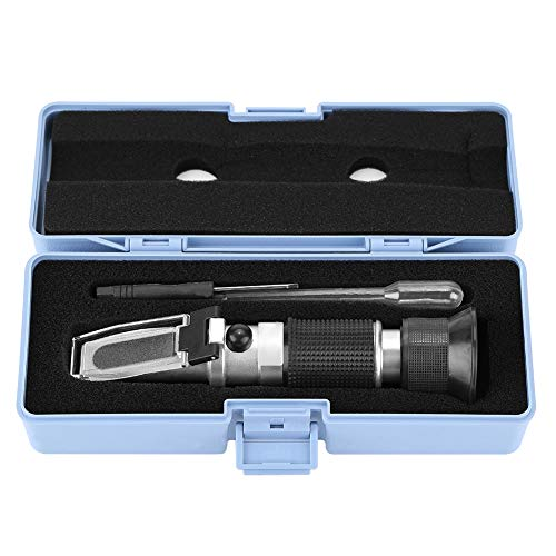 【𝐎𝐬𝐭𝐞𝐫𝐟ö𝐫𝐝𝐞𝐫𝐮𝐧𝐠𝐬𝐦𝐨𝐧𝐚𝐭】 Brix Refraktometer, tragbare Werkzeuge Honigkonzentrationsmesser für Honig Ahornsirup und Melasse Bienenzuchtzubehör mit 58 90% (Zuckergehalt)