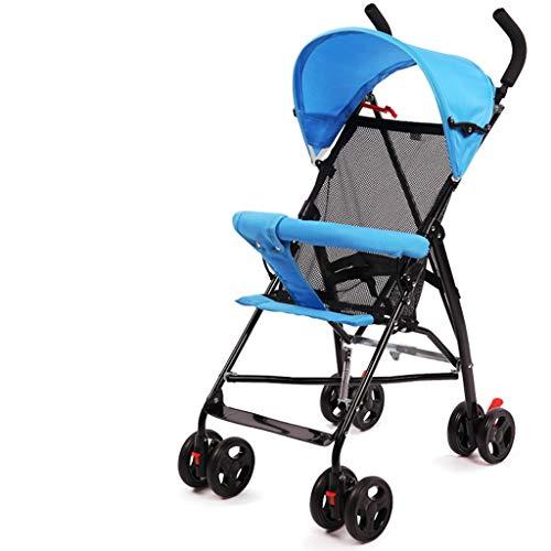 Carritos y sillas de Paseo El Cochecito de bebé Puede Sentarse reclinado Ultra Ligero portátil Plegable Simple Paraguas niño bebé niño Cochecito Verano Bebé Sillas de Paseo