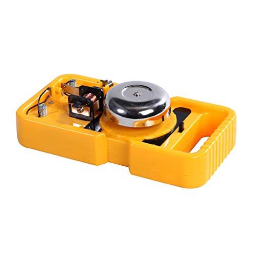 HomeDecTime DIY Science Toy Kit de Campana Eléctrica Kits de Herramientas de Experimento de Física para Niños