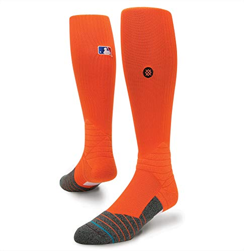 Stance Diamond Pro OTC MLB on Field Chaussette pour homme - Orange - Large