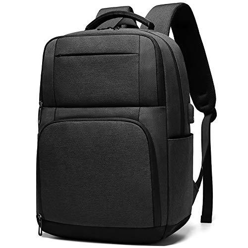 Business Travel Laptops Rucksack Mit USB-Ladeanschluss, Wasserdicht Für 15,6-Zoll-Laptop Und Notebook Dreidimensionales Wabenrückenpolster