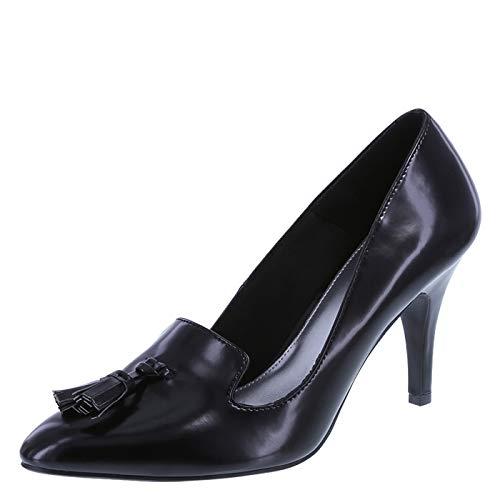 Fioni Women's Kritic Tassel Pump Shoes (7.5, Black)