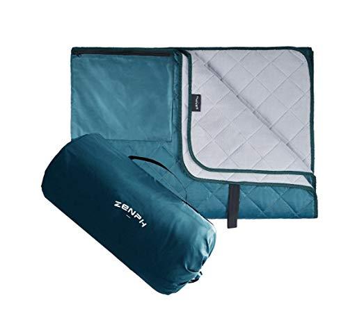 Zenph wasserdichte Picknickdecke,Campingdecke,Warme Decke,Sehr Geeignet für Outdoor,Camping,Picknicks,Reise und Heimnutzung,140 x 200cm