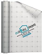 75m² - doitBau dejett 2-luchtdoorlatend vlies dampscherm dakbaan dampschermfolie