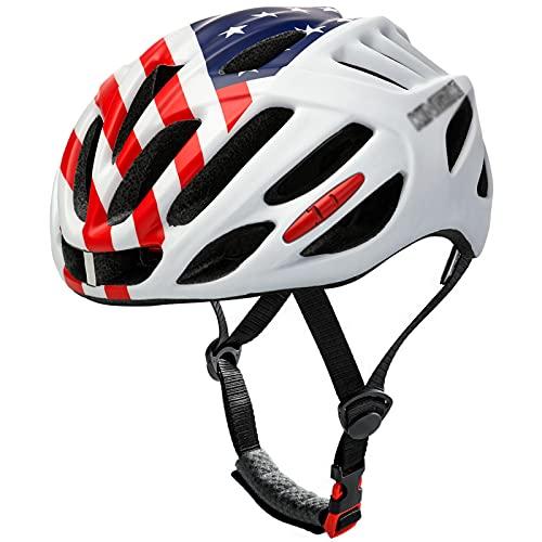 YTBLF Casco De Ciclismo para Monopatín - Microshell Ligero para PC, Equipo De Protección para Gorra De Ciclismo Deportivo para Bicicleta BMX Casco para Scooter, Jóvenes, Adultos, 58-62cm