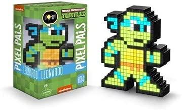 PDP Pixel Pals Teenage Mutant Ninja Turtles Leonardo Collectible Lighted Figure, 878-037-NA-LEONARDO