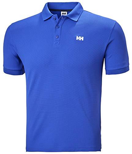 Helly Hansen Driftline, Polo Uomo, Blu Reale, S