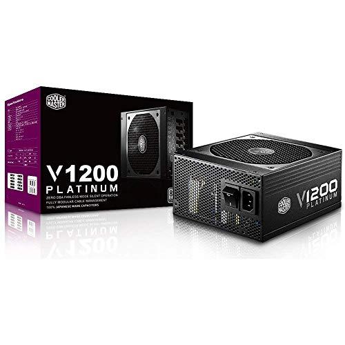 Cooler Master V1200 Platinum 1200W PC電源ユニット 80PLUS PLATINUM 7年保証 PS443 RSC00-AFBAG1-JP