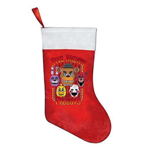 Song Of Song Five Nights at Freddy's Art Christmas Stockings for Xmas Holiday Party Home Decorations