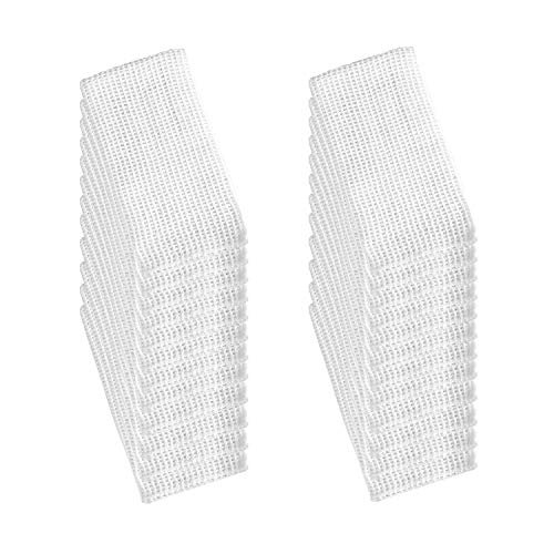 MAXIMA AMENITIES 24 Trapos de Rejilla Cocina 100% algodón, paño de Cocina, Toalla de Cocina Muy Absorbente 34 x 34 cm