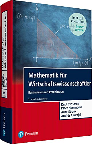 Mathematik für Wirtschaftswissenschaftler. Mit eLearning-Zugang